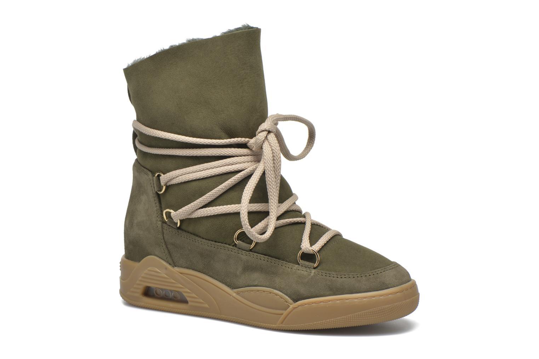 Boots en enkellaarsjes Serafini Moon Groen detail