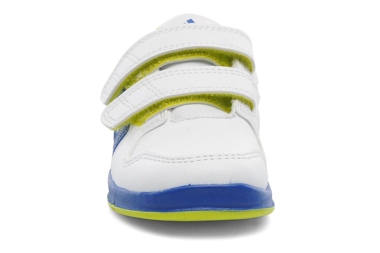 Sneaker Adidas Performance LK Trainer 6 CF I weiß schuhe getragen