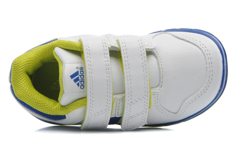 Sneaker Adidas Performance LK Trainer 6 CF I weiß ansicht von links