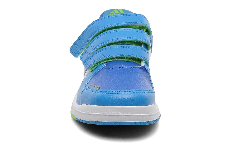 Sneaker Adidas Performance LK Trainer 6 CF K blau schuhe getragen