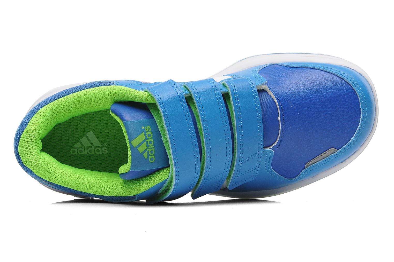 Sneaker Adidas Performance LK Trainer 6 CF K blau ansicht von links