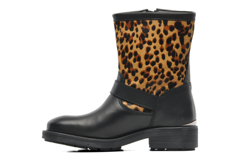 Bottines et boots Guess Lolla Noir vue face