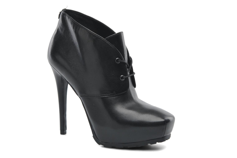 Boots en enkellaarsjes Guess Irris Zwart detail