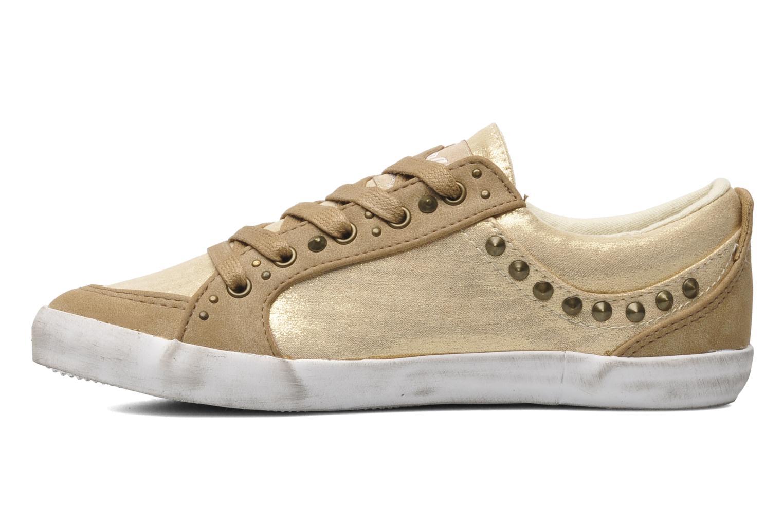 Sneakers Kaporal Stessa Goud en brons voorkant