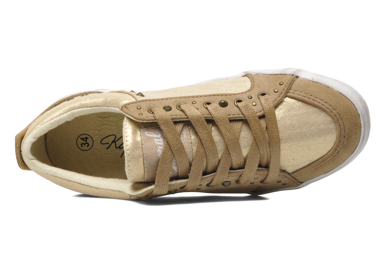 Sneaker Kaporal Stessa gold/bronze ansicht von links