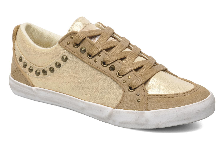 Sneakers Kaporal Stessa Goud en brons detail