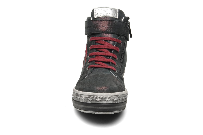 Baskets IKKS KAREN Bordeaux vue portées chaussures