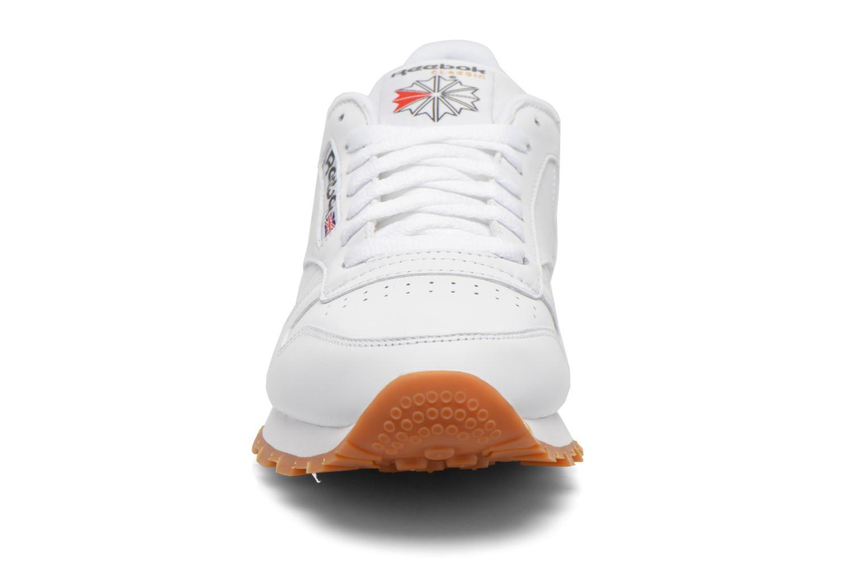 Deportivas Reebok Classic Leather Blanco vista del modelo