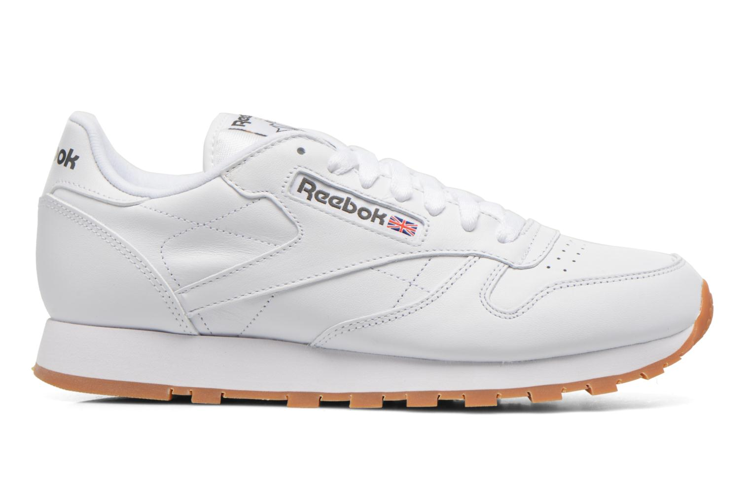 Trainers Reebok Classic Leather White back view