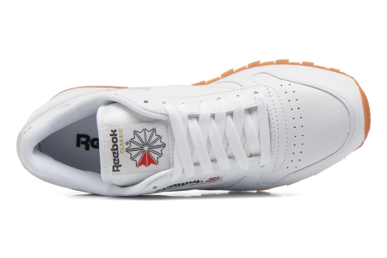 Deportivas Reebok Classic Leather Blanco vista lateral izquierda