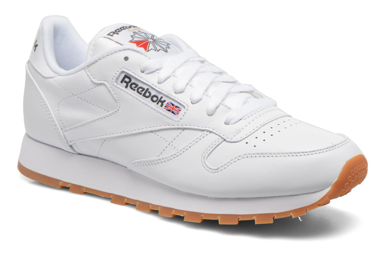 Classic Leather White/Gum - 2