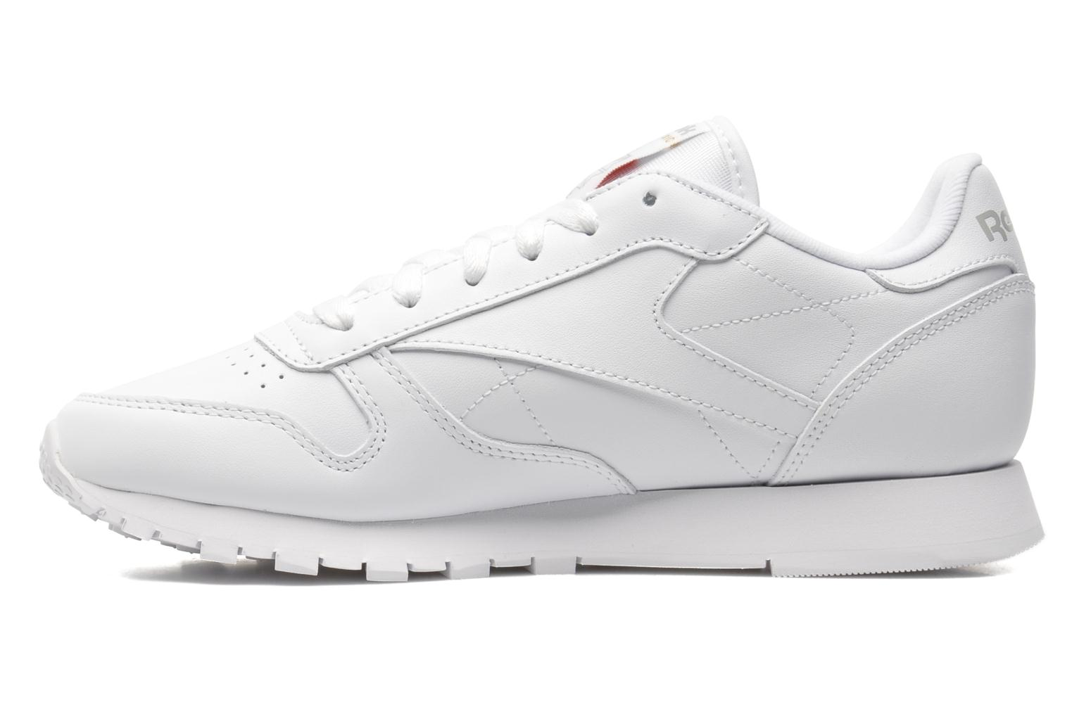 Sneakers Reebok Classic Leather W Hvid se forfra