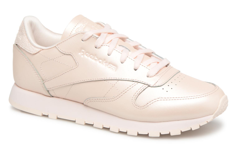 Grandes descuentos últimos Classic zapatos Reebok Classic últimos Leather W (Rosa 825dc5