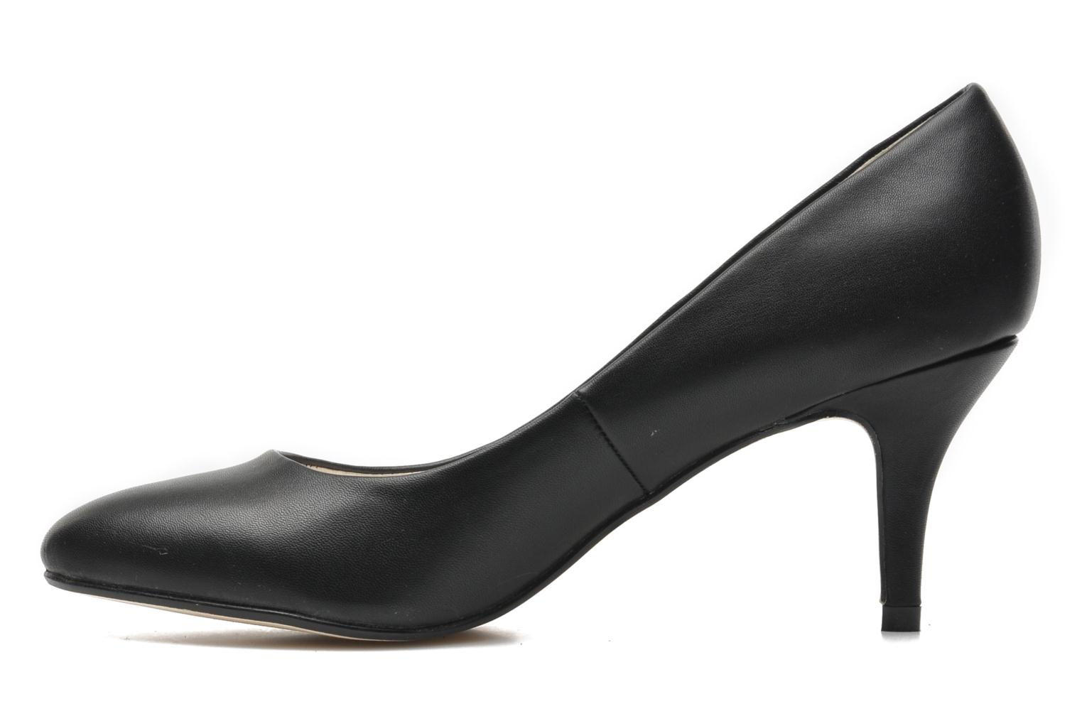 High heels I Love Shoes Kizup Black front view