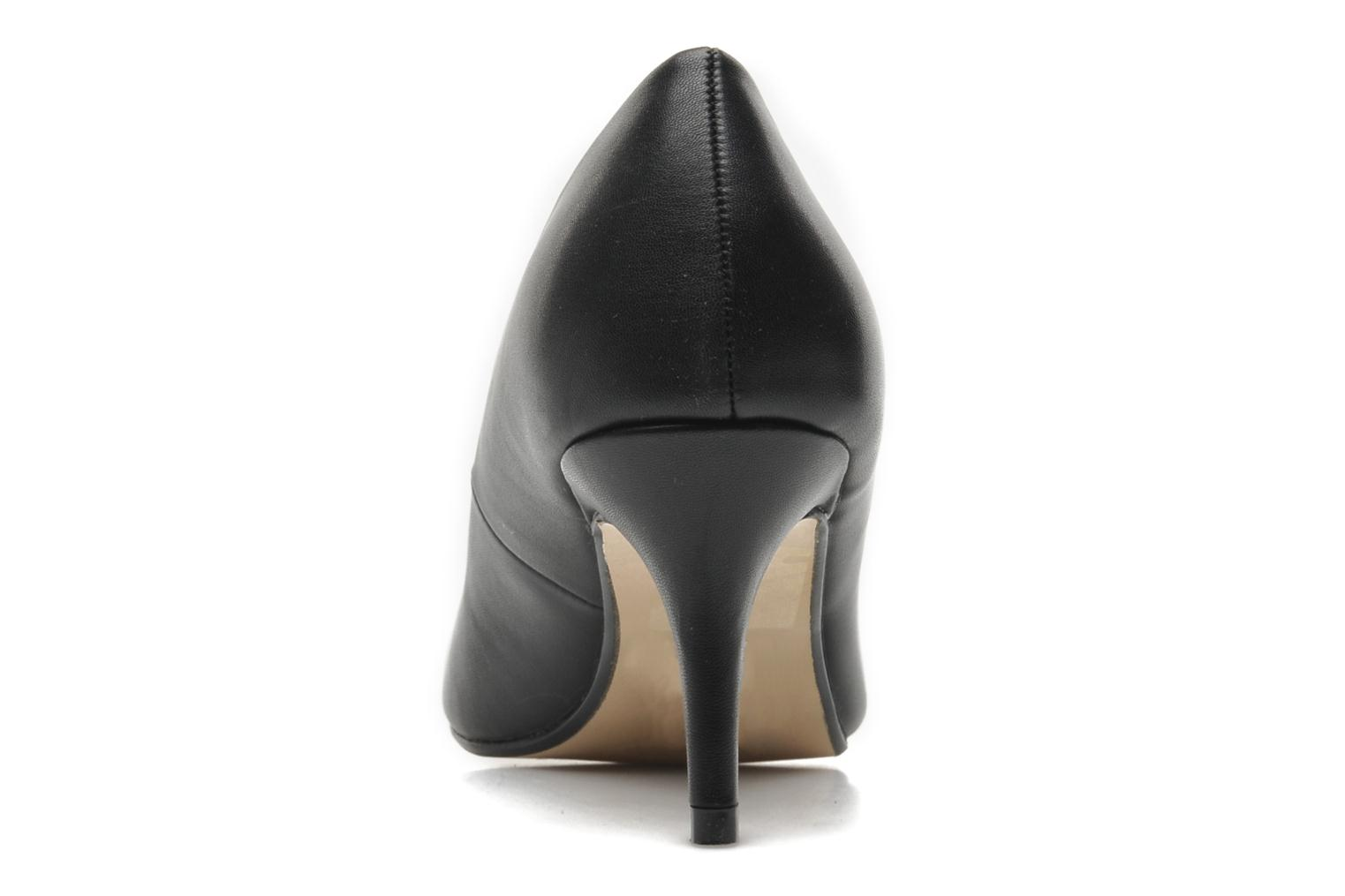 High heels I Love Shoes Kizup Black view from the right