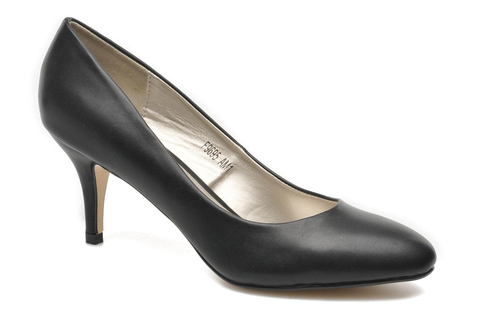 High heels I Love Shoes Kizup Black detailed view/ Pair view