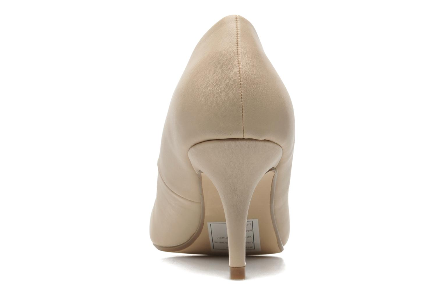 High heels I Love Shoes Kizup Beige view from the right