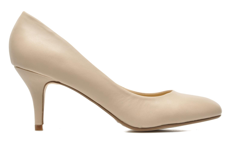 High heels I Love Shoes Kizup Beige back view