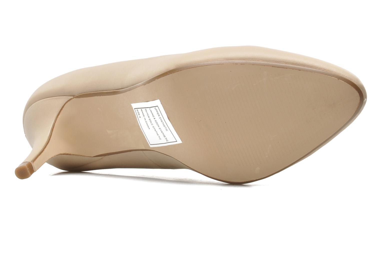 Escarpins I Love Shoes Kizup Beige vue haut