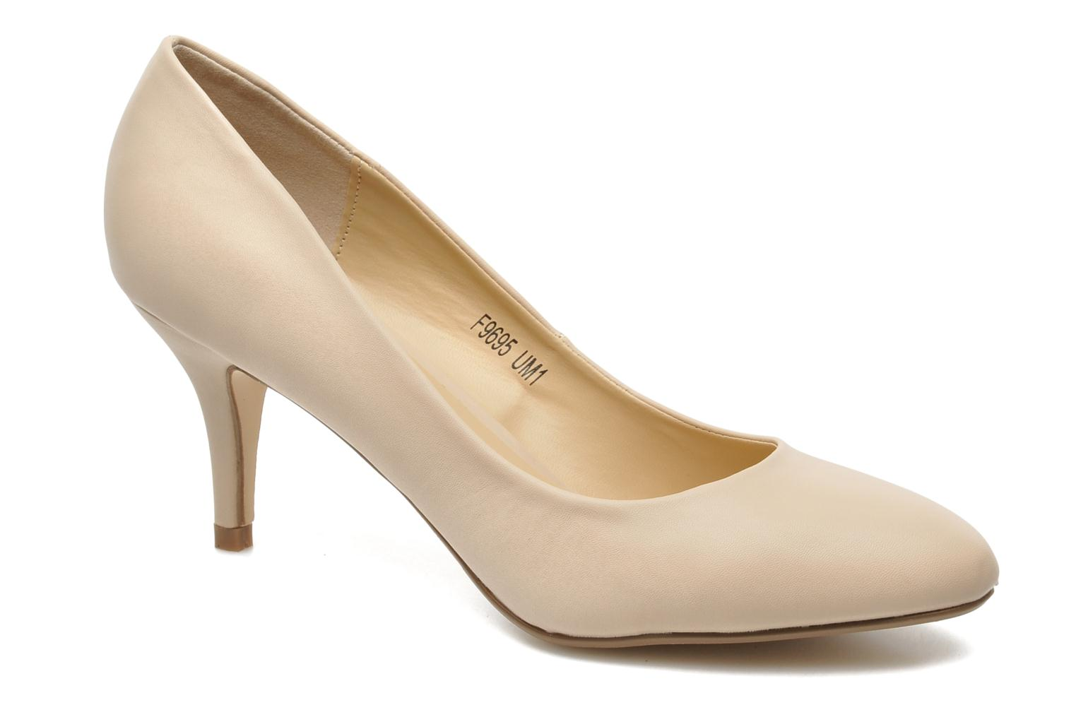 High heels I Love Shoes Kizup Beige detailed view/ Pair view