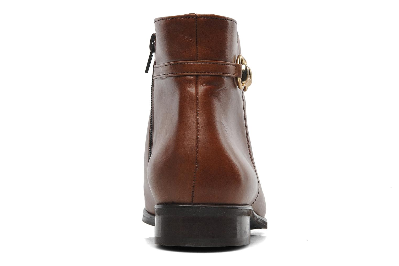 Bottines et boots Georgia Rose Amalgame Marron vue droite