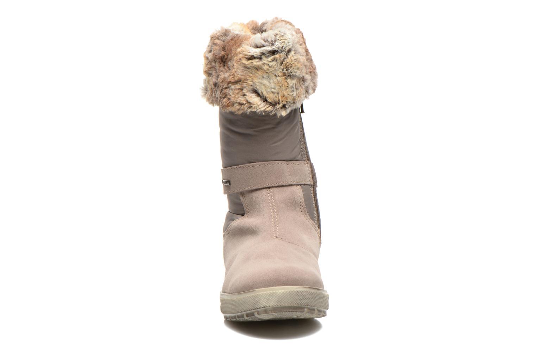 Bottes Primigi ERMA E GTX Beige vue portées chaussures