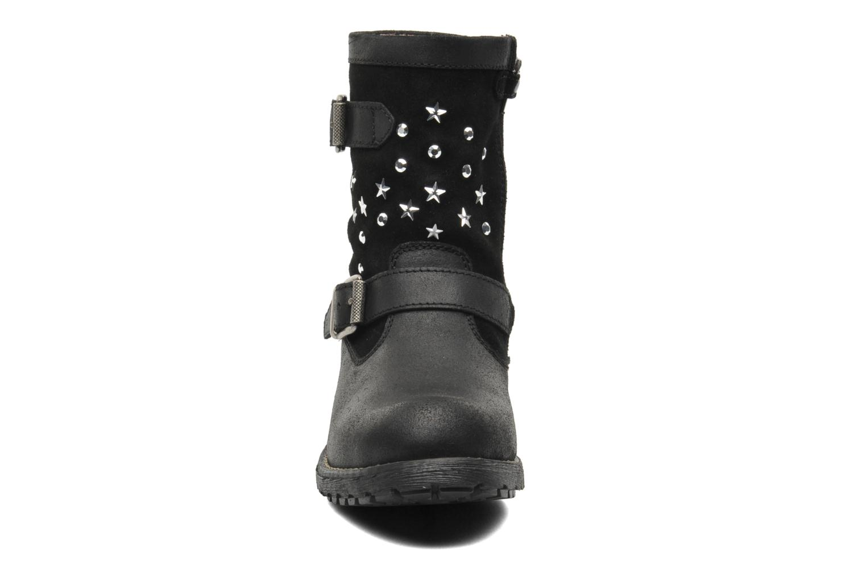 Bottes Primigi YAMAHA 2-E GTX Noir vue portées chaussures