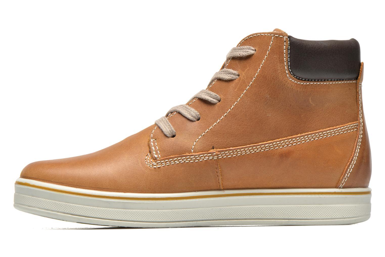 Sneaker Primigi ROLAND braun ansicht von vorne