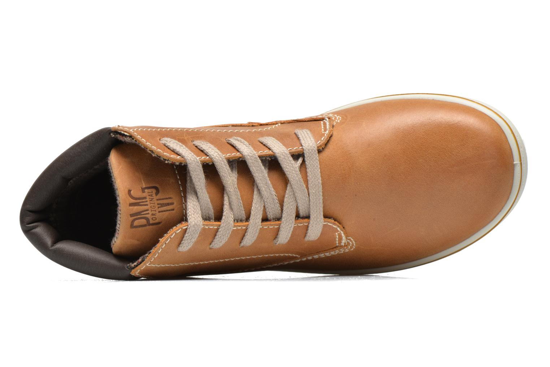 Sneaker Primigi ROLAND braun ansicht von links