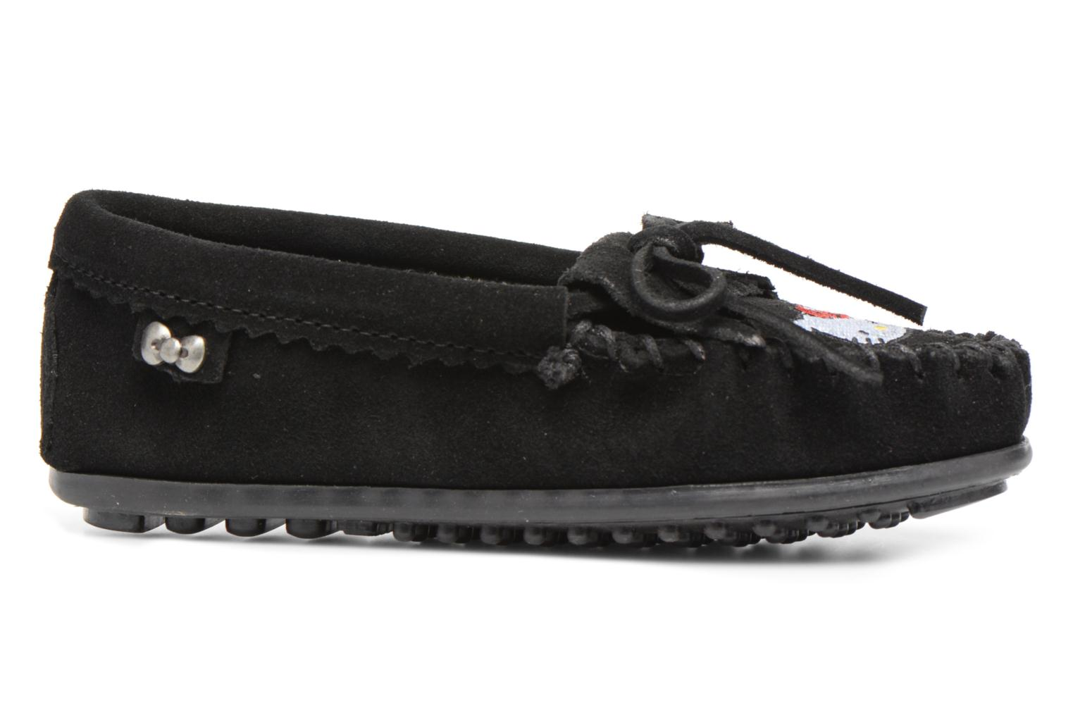Hello Kitty Moc Black Suede