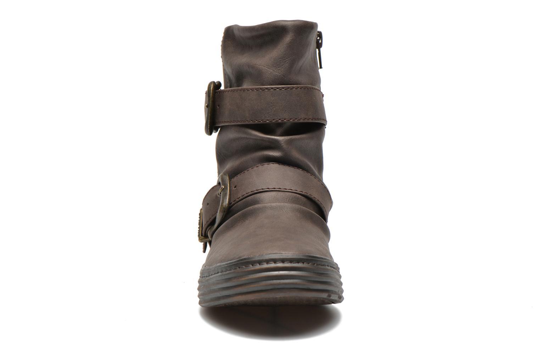 Bottines et boots Blowfish Octave Marron vue portées chaussures
