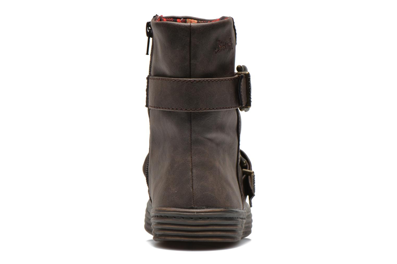 Bottines et boots Blowfish Octave Marron vue droite
