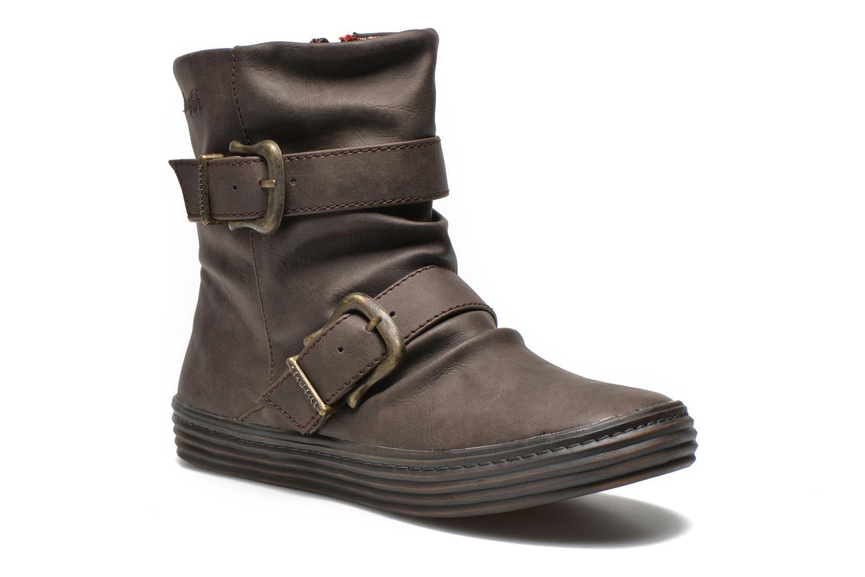 Bottines et boots Blowfish Octave Marron vue détail/paire
