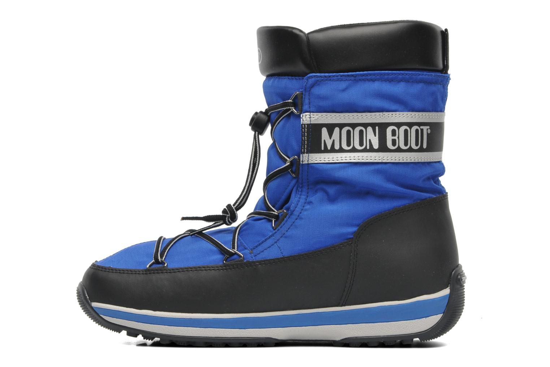 Sportschuhe Moon Boot Lem blau ansicht von vorne