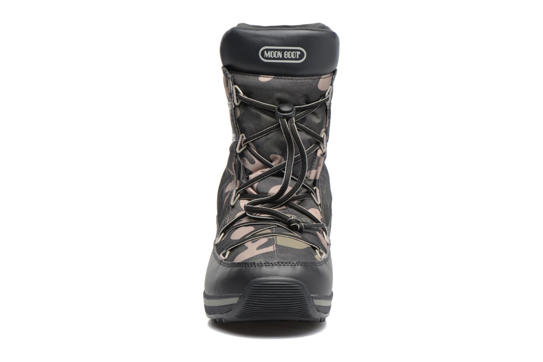 Chaussures de sport Moon Boot Lem Military Noir vue portées chaussures