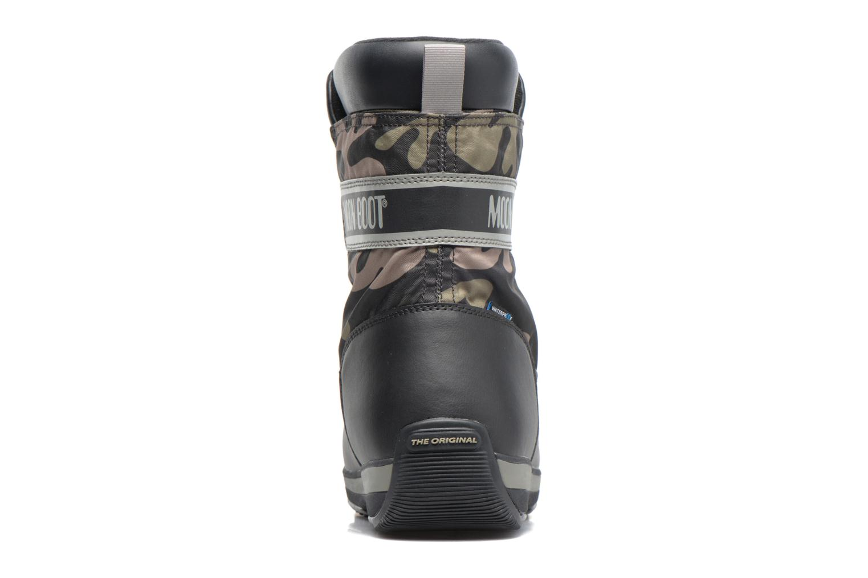 Chaussures de sport Moon Boot Lem Military Noir vue droite
