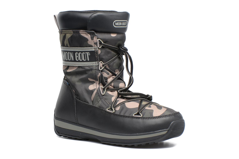 Chaussures de sport Moon Boot Lem Military Noir vue détail/paire