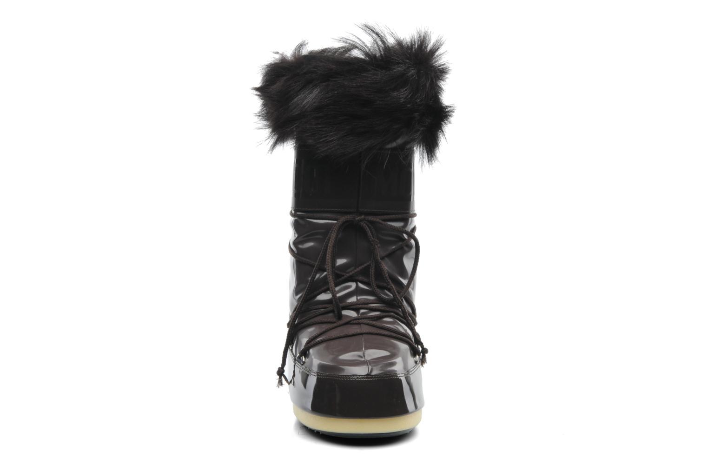 Stiefel Moon Boot Vail braun schuhe getragen