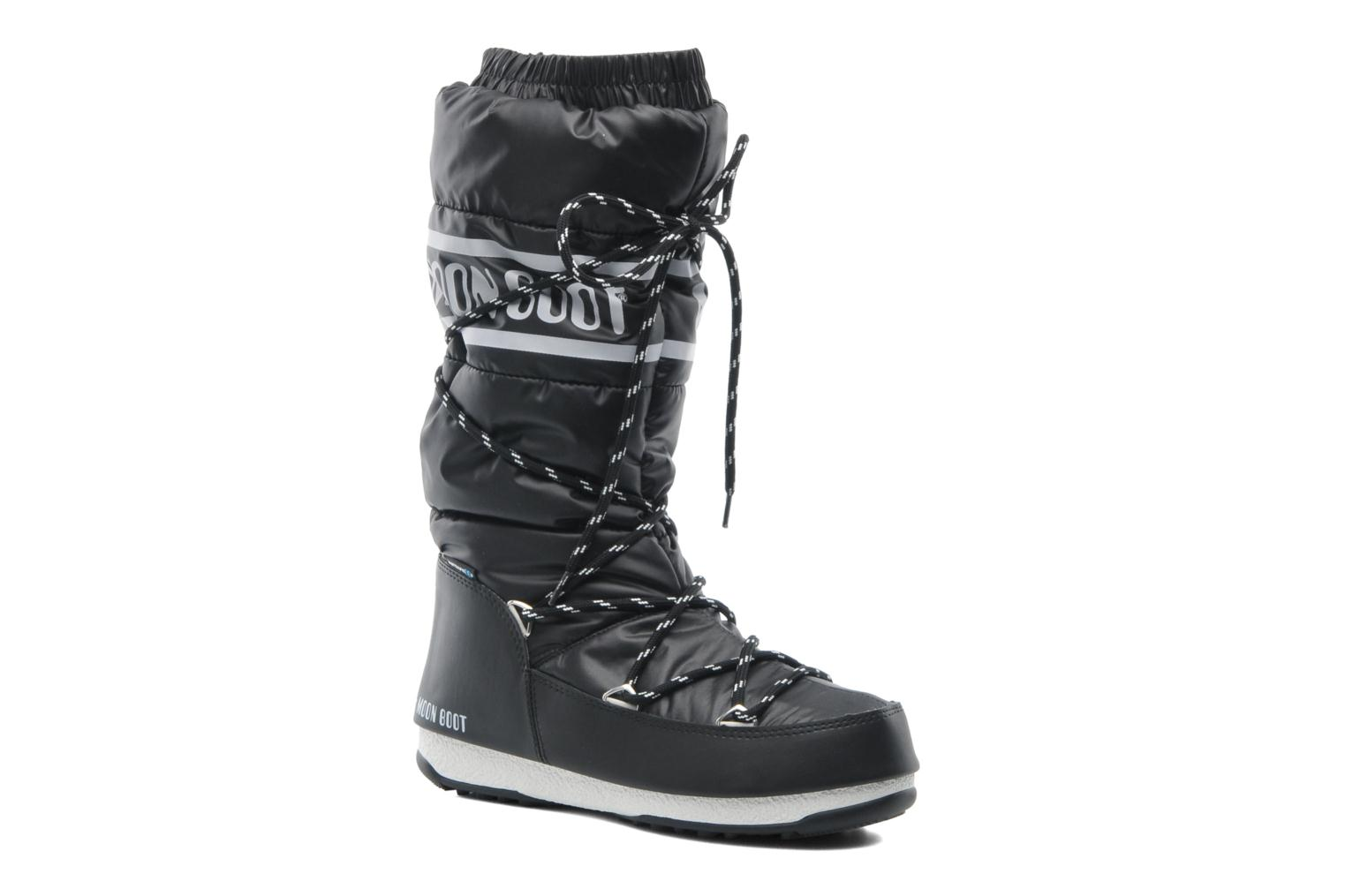 Sport shoes Moon Boot Duvet II Black detailed view/ Pair view