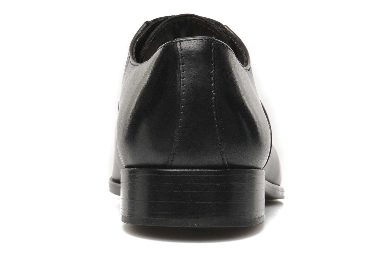 Zapatos con cordones Marvin&Co Nagoya Negro vista lateral derecha