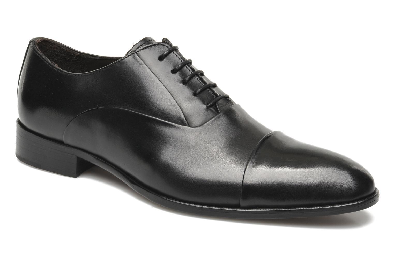 Chaussures à lacets Marvin&Co Nagoya Noir vue détail/paire