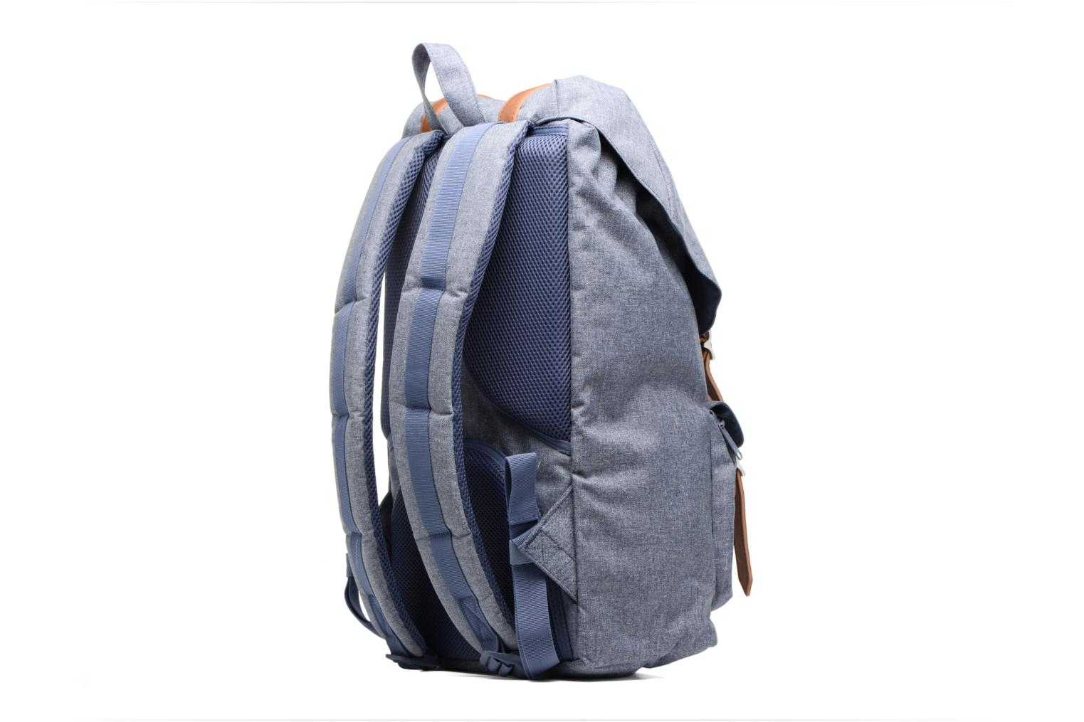Rucksacks Herschel Little America Blue view from the right