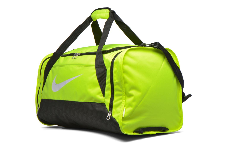 Sporttassen Nike Brasilia 6 M Duffle Geel model