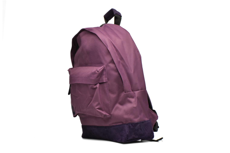 Rucksäcke Mi-Pac Classic Backpack lila schuhe getragen
