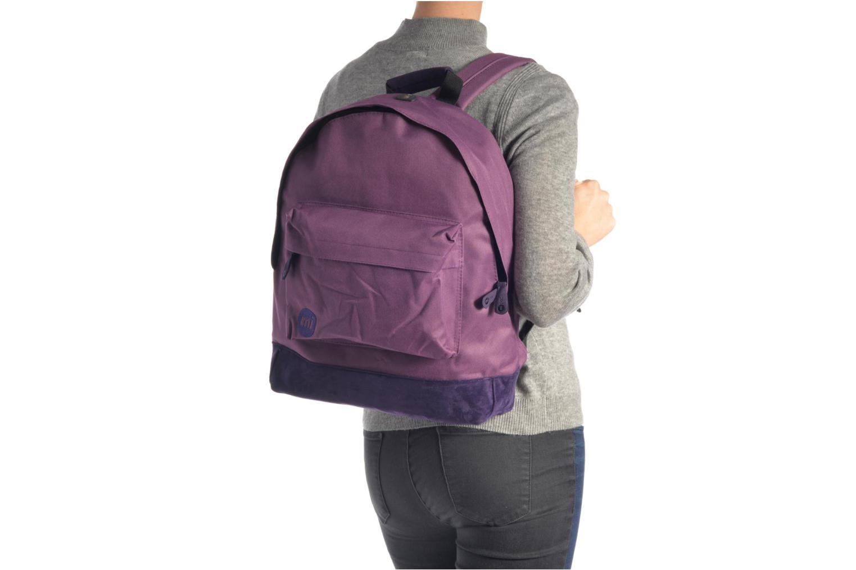 Rucksäcke Mi-Pac Classic Backpack lila ansicht von oben