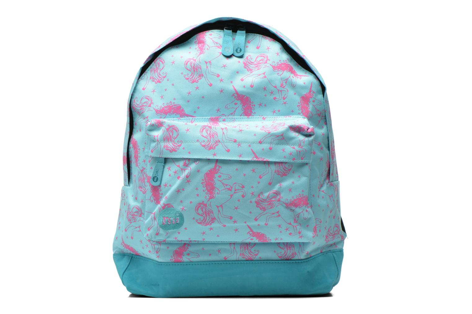 Custom Backpack Aqua/pink Unicorns
