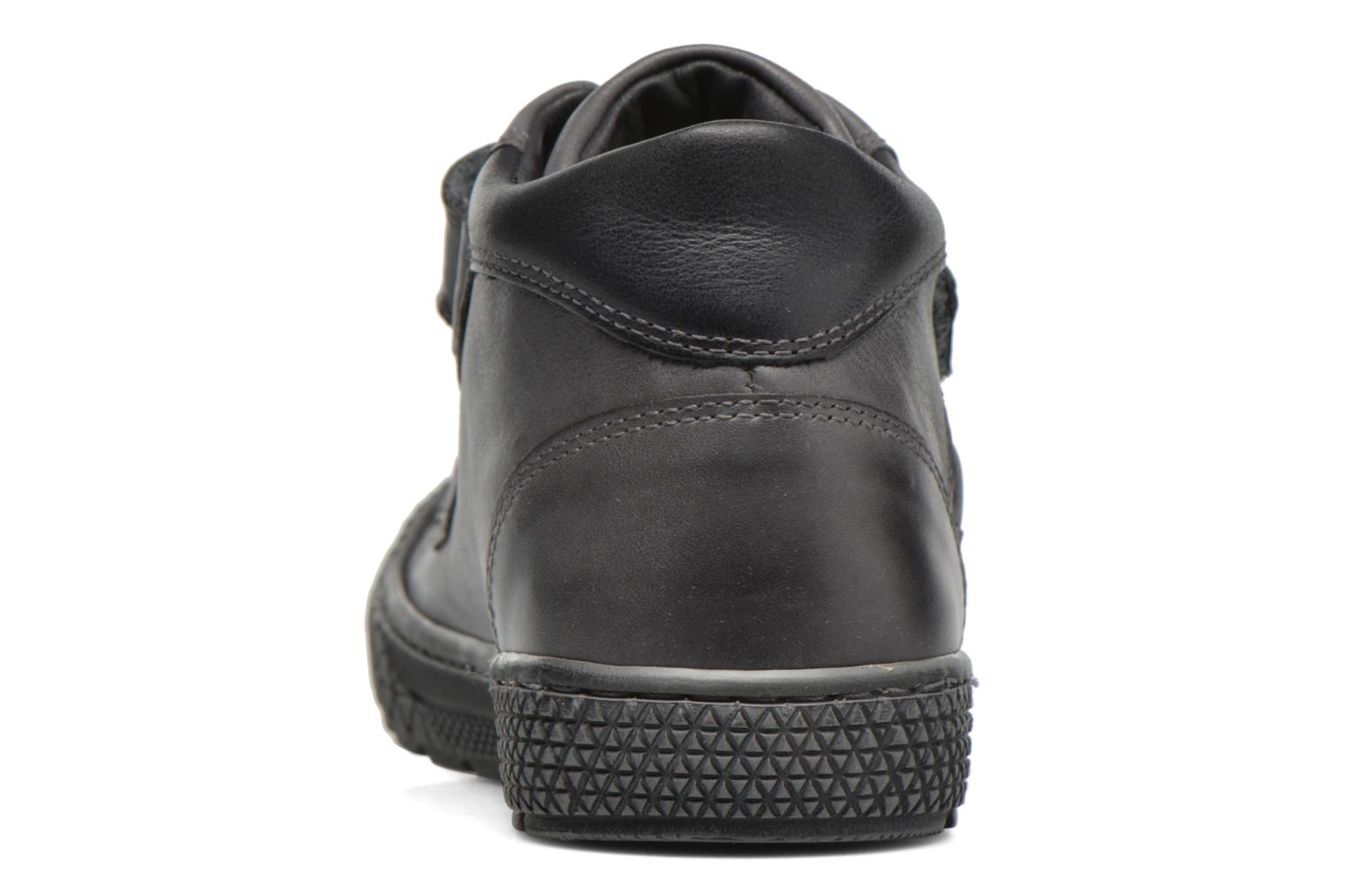 Nevan Calf Smoke Black