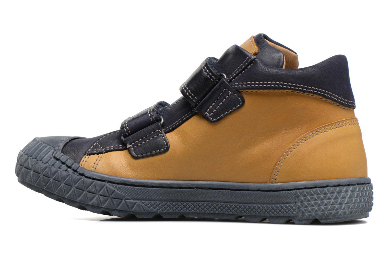 Sneaker Stones and Bones Nevan gelb ansicht von vorne