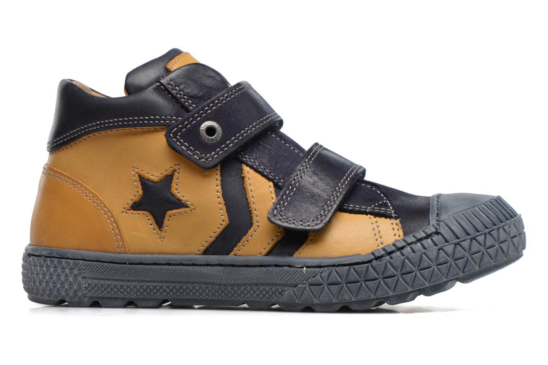 Sneaker Stones and Bones Nevan gelb ansicht von hinten