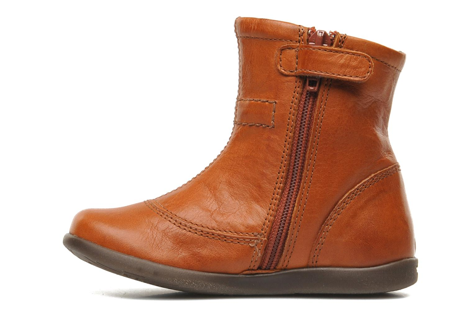 Ankle boots Stones and Bones MAIL Brown front view
